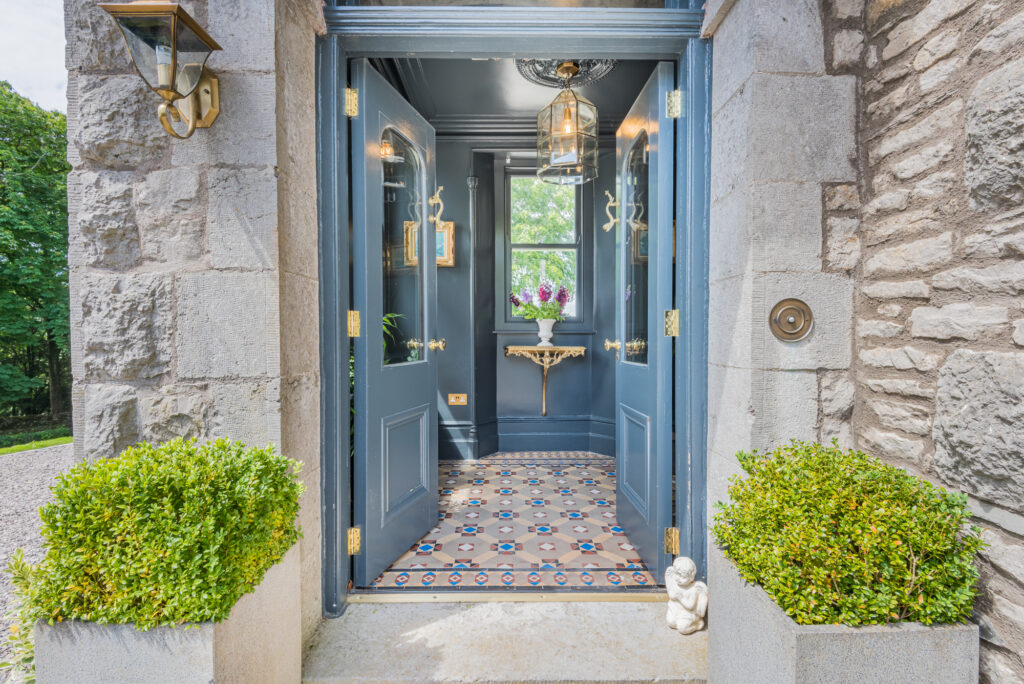 Entrance way into beautiful home